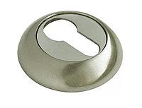 Накладка на ключевой цилиндр Rucetti RAP KH SN/CP (цвет: белый никель/полированный хром)