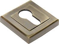 Накладка на ключевой цилиндр Rucetti RAP KH-S AB (цвет: античная бронза)