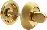 Поворотная ручка для сантехнических защелок Rucetti RAP WC PG (цвет: матовое золото)