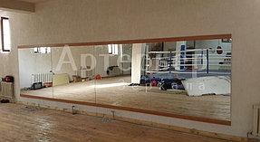 Изготовление и установка зеркал в тренажерный зал 2
