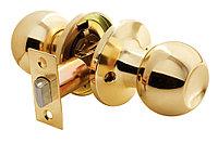 Дверная ручка-кноб без фиксатора Rucetti HK-01 PG (цвет: золото)