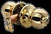 Дверная ручка-кноб с фиксатором Rucetti HK-01 WC PG (цвет: золото)