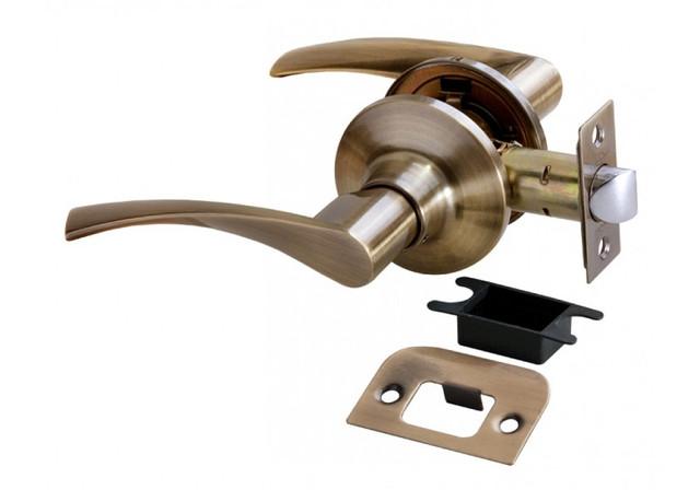 Дверная ручка-кноб без фиксатора Rucetti HK-02 AB
