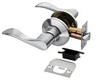 Дверная ручка-кноб без фиксатора Rucetti HK-03 SC (цвет: матовый хром)