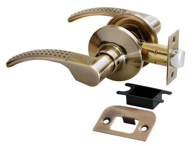 Дверная ручка-кноб без фиксатора Rucetti HK-04 AB