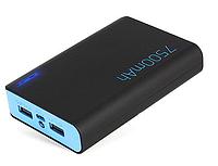 Портативное зарядное устройство, SVC, UPB-805B, 7500 mAh, Выход 2 USB: 1*2.1А и 1*1А, Индикатор заряда, LED-фо, фото 1