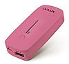 Портативное зарядное устройство, Delux, DLP-09R, 5200 mAh, Выход USB: 1*1A, 7 степеней защиты, Кабель Micro US