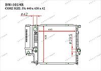 Радиатор основной Great BMW Series 3. E36 1990-1999 1.6i / 1.8i / 2.0i / 2.3i / 2.5i / 2.8i 17111719136