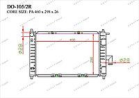 Радиатор основной Great Daewoo Matiz. II пок. 2001-2005 0.8i / 1.0i 96322941