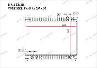 Радиатор основной Great Infiniti QX56. JA60 2004-2013 5.6i V8 214607S000