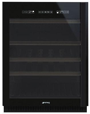 Встраиваемый винный холодильник Smeg CVI638NS