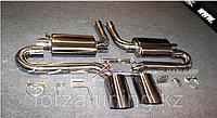Выхлопная система Hamann + задний диффузор на BMW X6