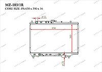 Радиатор основной Great Mazda 323. BG 1989-1994 1.6i / 1.8i B55715200B