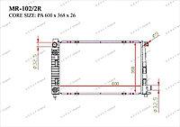 Радиатор основной Great Mercedes A-Класс. W168 1997-2004 1.6CDi / 1.7CDi 1685001102
