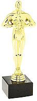 Награда Оскар в каменной подставке, 17см, фото 1