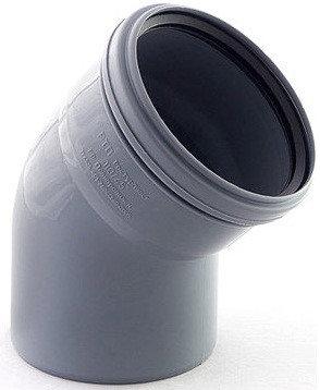 ОТВОД пластиковый канализационный 100*45, фото 2