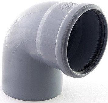 ОТВОД пластиковый канализационный 100*90, фото 2