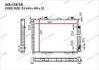 Радиатор основной Great Mercedes E-Класс. W210 1995-2002 4.2i / 4.3i / 5.0i 2105001203