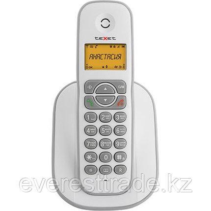 Телефон беспроводной Texet TX-D4505A бело-серый, фото 2