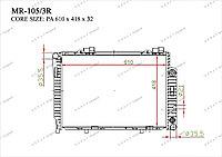 Радиатор основной Great Mercedes SLK-Класс. R170 1996-2004 2.0i / 2.3i 2025002203