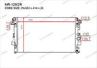 Радиатор основной Great Mercedes V-Класс. W639 2003-2014 2.0CDi / 2.2CDi / 3.0CDi 6395010401