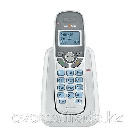 Телефон беспроводной Texet TX-D6905А белый, фото 2
