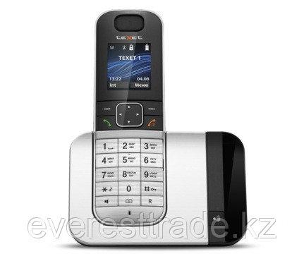 Телефон беспроводной Texet TX-D7605A черный-серебро, фото 2