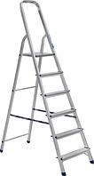 Лестница-стремянка, ЗУБР 6 ступеней, 124 см