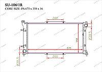 Радиатор основной Great Subaru Legacy. B3 1994-1999 1.8i / 2.0i / 2.2i 45111AE001