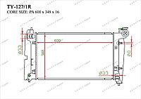 Радиатор основной Great Toyota Corolla. E120 2002-2008 1.3i / 1.4i / 1.6i / 1.8i 164000D120