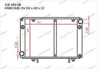 Радиатор основной Great ГАЗ Газель. 3302 2000-2013 2.3i 330242.1301.000-31
