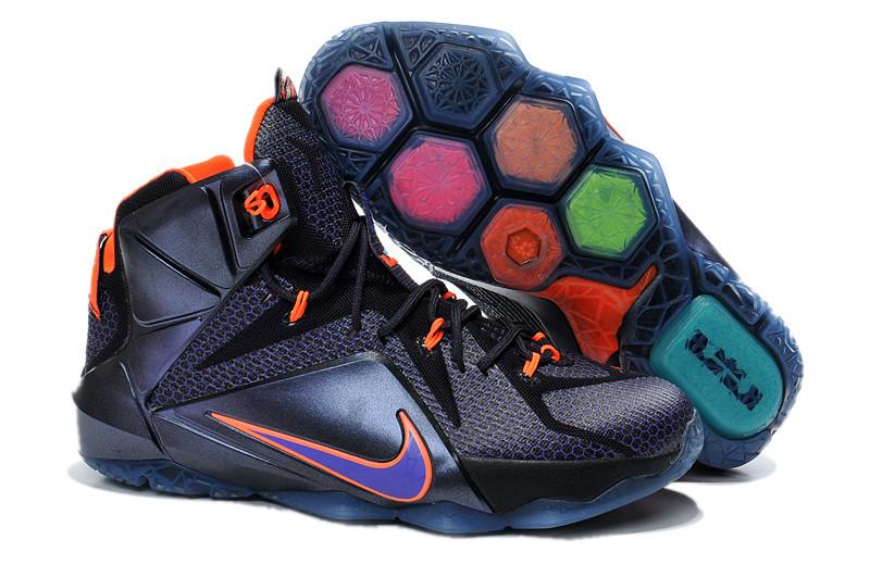 Кроссовки Nike LeBron XII (12) Black Elite Series (40-46)