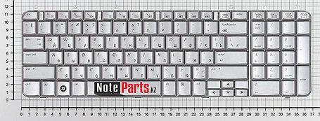 Клавиатура для ноутбука HP Pavilion DV7-1000/ DV7-1200 / DV7-1500  серебро, фото 2