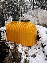 Установка емкости под дизельное топливо