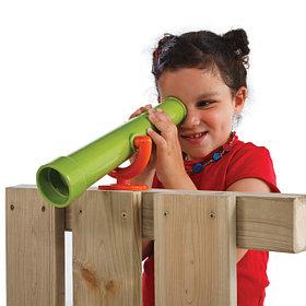 Детский бинокль, перископ, подзорная труба, руль, штурвал