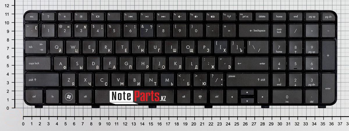 Клавиатура для ноутбука HP dv7-6000, dv7-6100