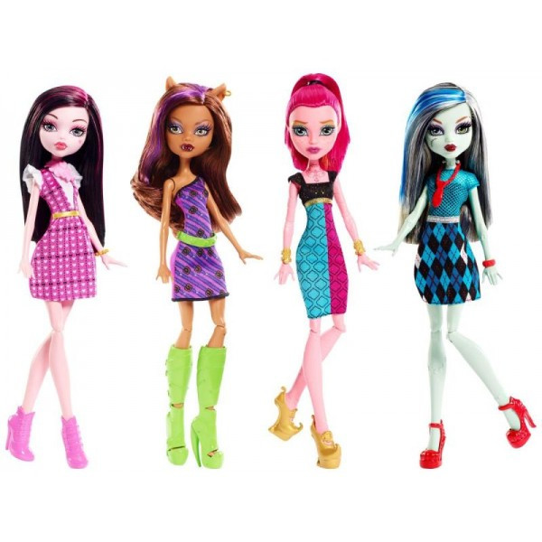 Monster High Базовые куклы перевыпуск - фото 1