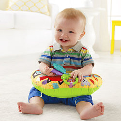 FISHER PRICE:  Музыкальная массажная подушка для игр на животе