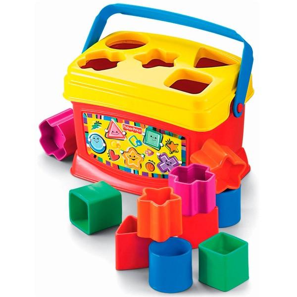 FISHER PRICE:Первые кубики малыша