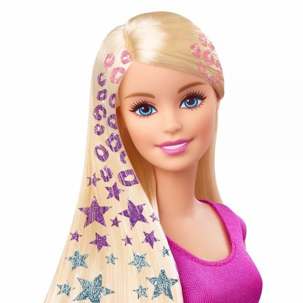 """Кукла Barbie Барби CLG18 Игровой набор """"Блестящие волосы"""""""