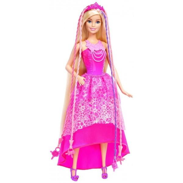 Кукла Barbie Модный мир серия Королевские косы