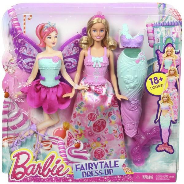 Кукла Barbie Сказочные превращения 3 в 1