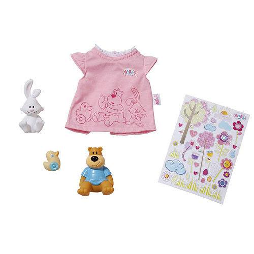 Игрушка BABY born Одежда и животные, кор.