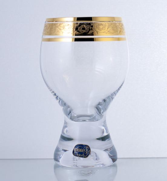 Бокал Gina 340мл. вода 6шт. богемское стекло, Чехия 40159-435802-340. Алматы
