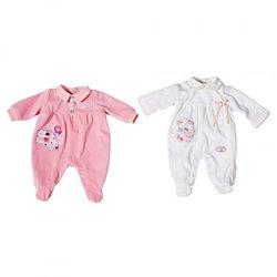 Одежда для интерактивной куклы Zapf Creation Baby Annabell 792-940 Комбинезоны, 2 асс., веш.