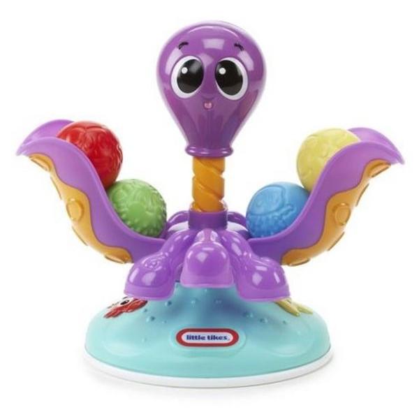 Little Tikes Развивающая игрушка Вращающийся осьминог