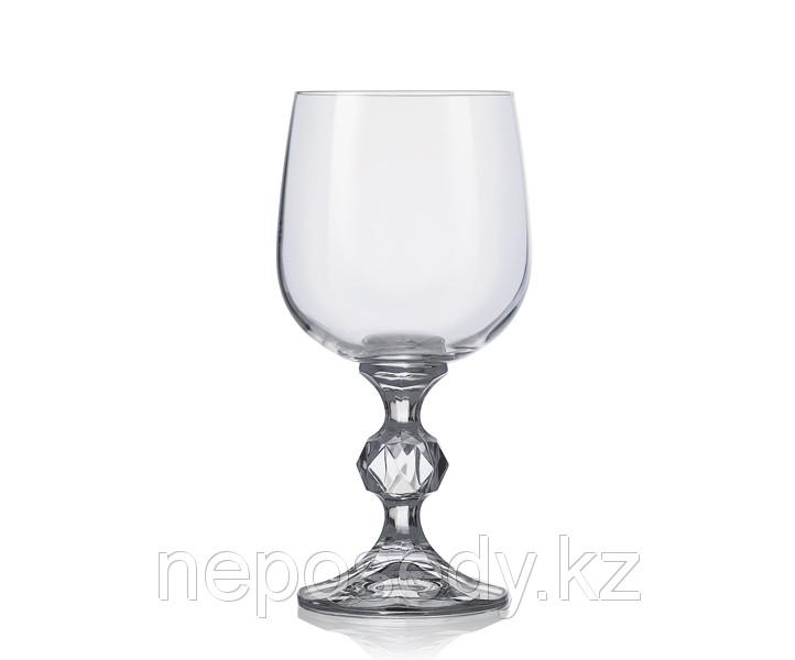 Фужеры Claudia 340мл 6шт. богемское стекло, Чехия 40149--340. Алматы