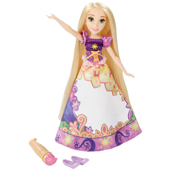 Hasbro Disney Princess Принцесса Рапунцель в в юбке с проявляющимся принтом