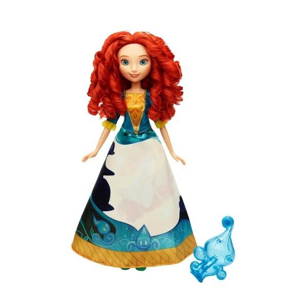 Disney Princess: Кукла Мерида в юбке с проявляющимся принтом