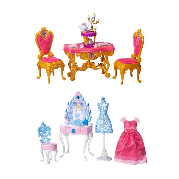 DISNEY PRINCESS Игровой набор мебель принцессы в ассортименте
